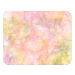 Softly Lights, Bokeh Double Sided Flano Blanket (Large)