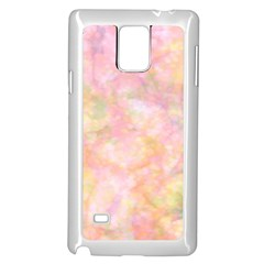 Softly Lights, Bokeh Samsung Galaxy Note 4 Case (white)