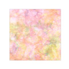 Softly Lights, Bokeh Small Satin Scarf (Square)