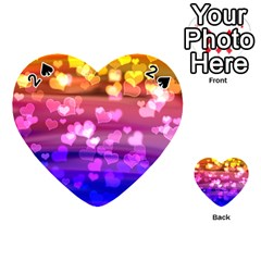 Lovely Hearts, Bokeh Playing Cards 54 (heart)