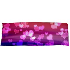 Lovely Hearts, Bokeh Body Pillow Cases (Dakimakura)