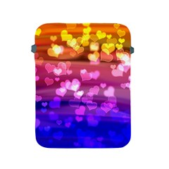 Lovely Hearts, Bokeh Apple Ipad 2/3/4 Protective Soft Cases