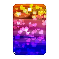 Lovely Hearts, Bokeh Samsung Galaxy Note 8 0 N5100 Hardshell Case