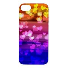 Lovely Hearts, Bokeh Apple Iphone 5s Hardshell Case