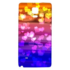 Lovely Hearts, Bokeh Galaxy Note 4 Back Case
