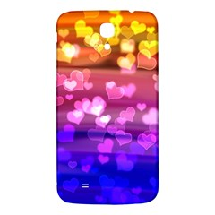 Lovely Hearts, Bokeh Samsung Galaxy Mega I9200 Hardshell Back Case