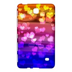 Lovely Hearts, Bokeh Samsung Galaxy Tab 4 (7 ) Hardshell Case