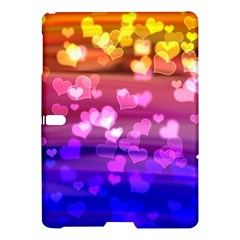 Lovely Hearts, Bokeh Samsung Galaxy Tab S (10.5 ) Hardshell Case