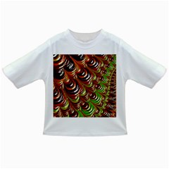 Special Fractal 31 Green,brown Infant/Toddler T-Shirts