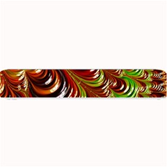 Special Fractal 31 Green,brown Small Bar Mats