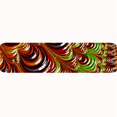 Special Fractal 31 Green,brown Large Bar Mats