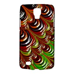 Special Fractal 31 Green,brown Galaxy S4 Active