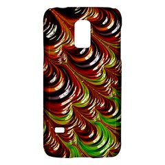 Special Fractal 31 Green,brown Galaxy S5 Mini