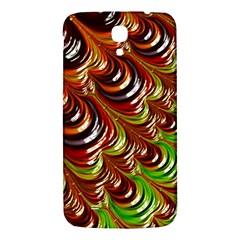 Special Fractal 31 Green,brown Samsung Galaxy Mega I9200 Hardshell Back Case