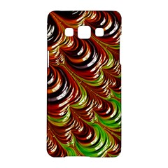 Special Fractal 31 Green,brown Samsung Galaxy A5 Hardshell Case