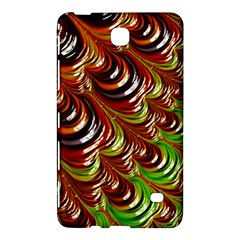 Special Fractal 31 Green,brown Samsung Galaxy Tab 4 (8 ) Hardshell Case