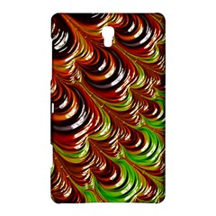 Special Fractal 31 Green,brown Samsung Galaxy Tab S (8.4 ) Hardshell Case