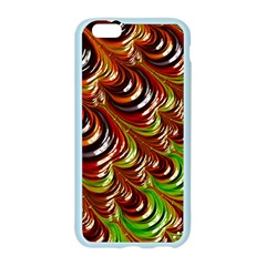 Special Fractal 31 Green,brown Apple Seamless iPhone 6 Case (Color)