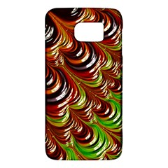 Special Fractal 31 Green,brown Galaxy S6