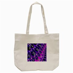 Special Fractal 31pink,purple Tote Bag (Cream)
