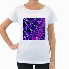 Special Fractal 31pink,purple Women s Loose-Fit T-Shirt (White)