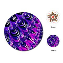 Special Fractal 31pink,purple Playing Cards (Round)