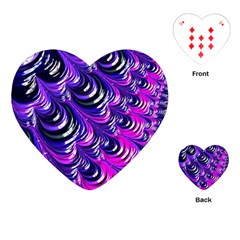 Special Fractal 31pink,purple Playing Cards (heart)