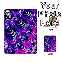Special Fractal 31pink,purple Playing Cards 54 Designs