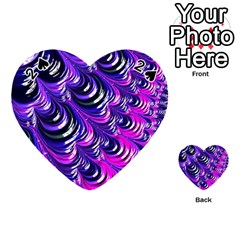 Special Fractal 31pink,purple Playing Cards 54 (Heart)