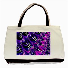 Special Fractal 31pink,purple Basic Tote Bag (two Sides)