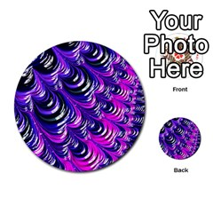 Special Fractal 31pink,purple Multi-purpose Cards (Round)