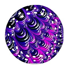 Special Fractal 31pink,purple Ornament (Round Filigree)