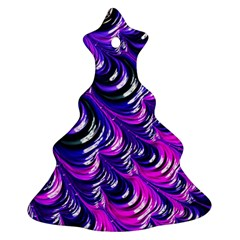 Special Fractal 31pink,purple Ornament (christmas Tree)