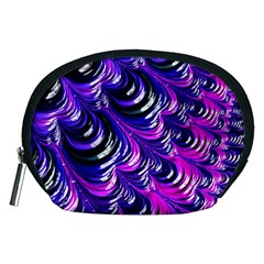 Special Fractal 31pink,purple Accessory Pouches (medium)