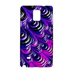 Special Fractal 31pink,purple Samsung Galaxy Note 4 Hardshell Case