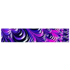 Special Fractal 31pink,purple Flano Scarf (small)