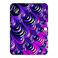 Special Fractal 31pink,purple Samsung Galaxy Tab 4 (10 1 ) Hardshell Case