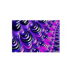 Special Fractal 31pink,purple Satin Wrap