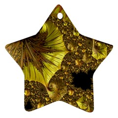 Special Fractal 35cp Ornament (star)