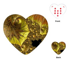 Special Fractal 35cp Playing Cards (Heart)
