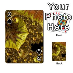Special Fractal 35cp Playing Cards 54 Designs
