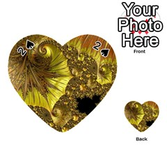 Special Fractal 35cp Playing Cards 54 (heart)