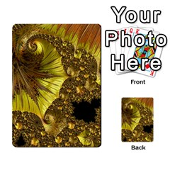 Special Fractal 35cp Multi Purpose Cards (rectangle)