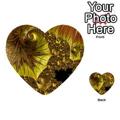 Special Fractal 35cp Multi Purpose Cards (heart)