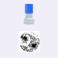 Special Fractal 35cp Rubber Round Stamps (Small)