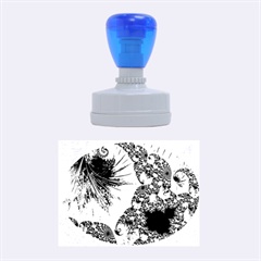 Special Fractal 35cp Rubber Oval Stamps