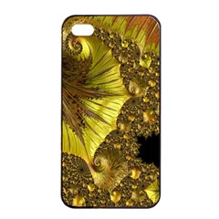 Special Fractal 35cp Apple iPhone 4/4s Seamless Case (Black)