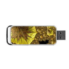 Special Fractal 35cp Portable Usb Flash (two Sides)