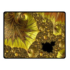 Special Fractal 35cp Double Sided Fleece Blanket (small)