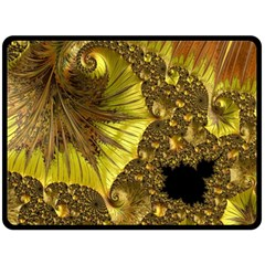 Special Fractal 35cp Double Sided Fleece Blanket (Large)